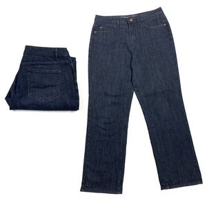 Coldwater Creek Classic Fit Jeans Size 8 Petite